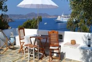 Patmos - Blue & White location appartement